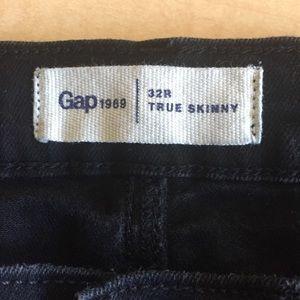 GAP Jeans - GAP 1969 True Skinny Black High Rise Skinny Jeans